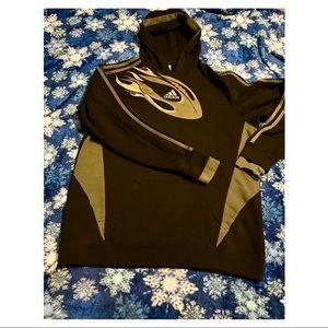 Adidas   boys XL hooded sweatshirt   football